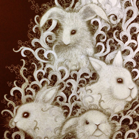 New Designers Bunnies by Hollie Crooker