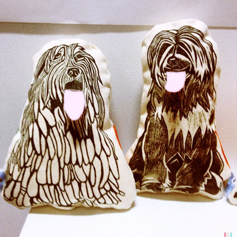 New Designers Dogs, by Angelica Hood at UCA Farnham