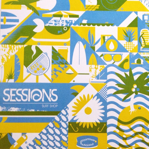New Designers Sessions Surf Shop by Joe Baines
