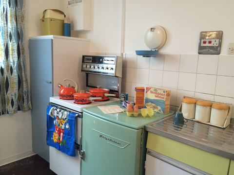 Balfron Tower Flat 130 interior kitchen