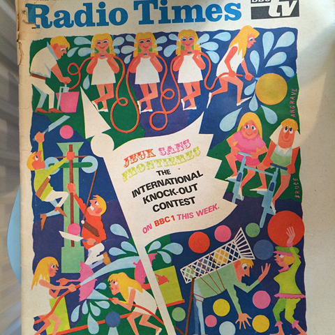 Balfron Tower Flat 130 interior radio times