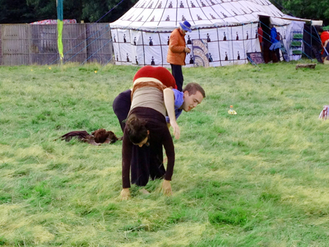 Body Contact Improvisation Into The Wild Festival