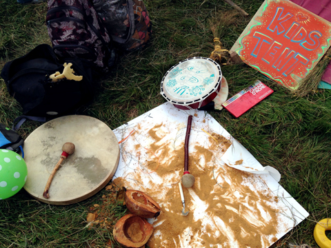 Kids Tent Shamanic Drums Into The Wild Festival