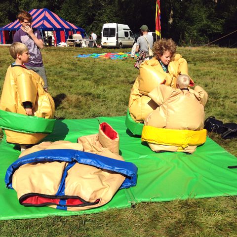 Laughing Lion Playshop with Lily Laughley Into The Wild Festival