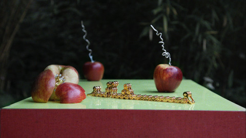 MAWI Robot Invasion video apples