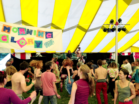 Morning Gloryville Into The Wild Festival