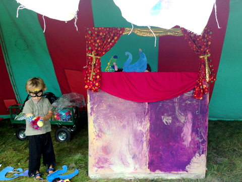 Puppet Show Workshop with Anita Myatt 2 Into The Wild Festival