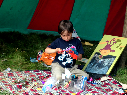 Puppet Show Workshop with Anita Myatt Into The Wild Festival