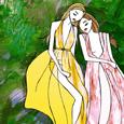 Zeynep Kartal Spring Summer 2015, Illustration by Rosa Crepax and Carlotta Crepax, Illustrated Moodboard thb