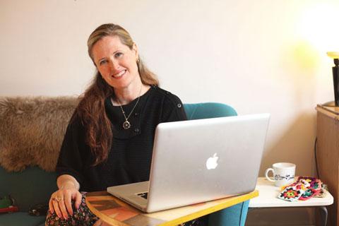 Amelia Gregory at work 2014-AmeliasMagazine