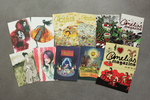 Amelias-Magazine-Kickstarter-Rewards-postcards