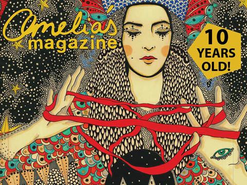 Amelias Magazine TWWDNU Kickstarter header