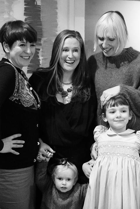 TWWDNU launch,Rosie,Amelia,Harriet