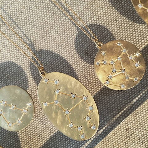 Brooke Gregson constellation pendants