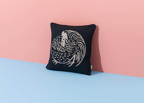 Chicken Cushion (styled), Nazanin Kamali