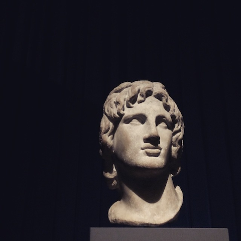 Defining Beauty British Museum-Alexander the Great