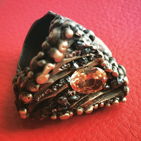 Imogen Belfield jurassic ring