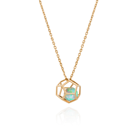 Ornella Iannuzzi Rock It ! cage pendant
