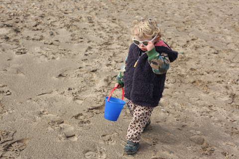 Pontins Camber Sands with Toddlers beach