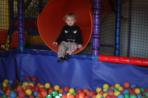 Pontins Camber Sands with Toddlers soft play