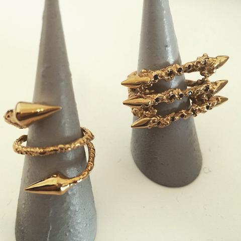 Ros Millar rings