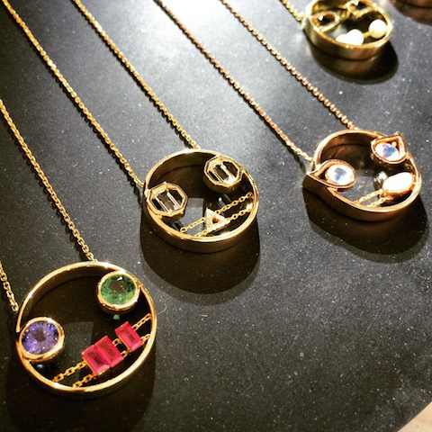 Ruifier face pendants