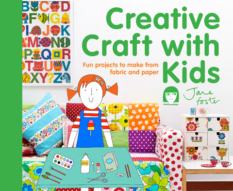 Jane Foster creative craft with kids