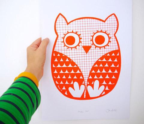 Jane Foster owl