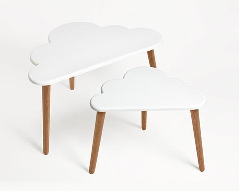 Cloud coffee table set by Pygmy Cloud