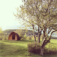 Lake district Holgates Silverdale Holiday Park camping pod thb