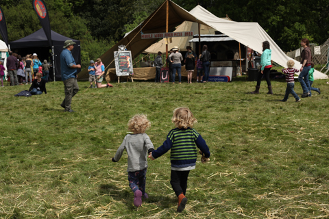 Wood Festival 2015-review kids run wild