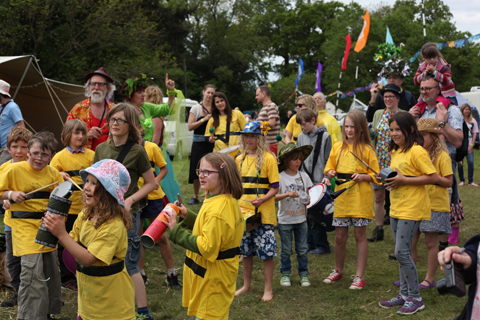 Wood Festival 2015-review samba band