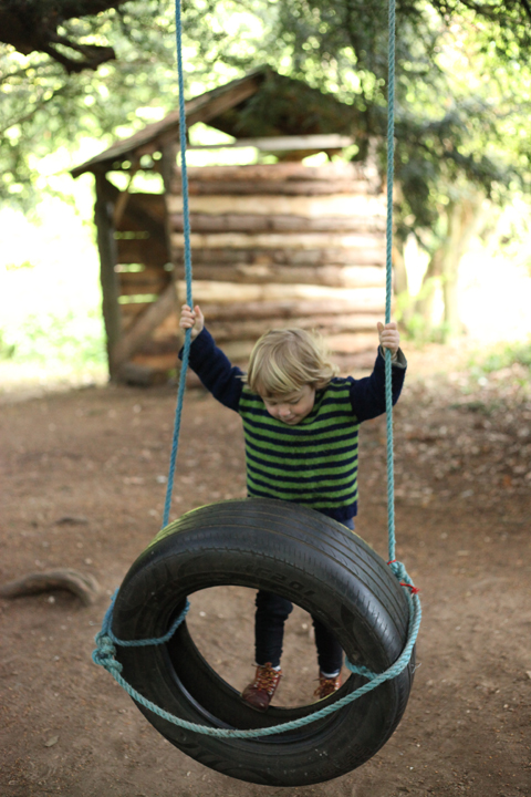 Wood Festival 2015-review tyre swing