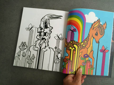 Amelia's Magazine issue 4 Colin Henderson colouring in pages