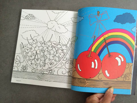 Amelia's Magazine issue 4 Zakee Shariff colouring in pages