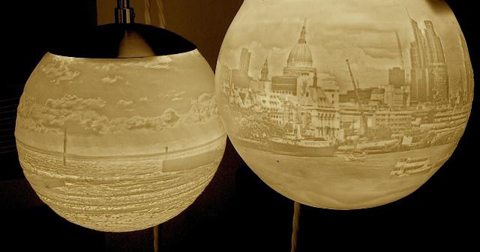 Beth Lewis (Williams Ceramic Lighting), Towerblock 1 and Ramsgate - New ...