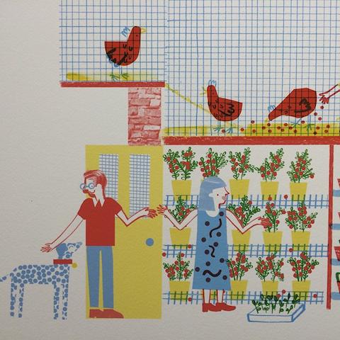 Lizzie Lomax vertical farming