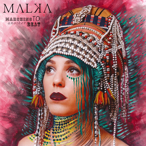 Malka cover art Marching to another beatMalka cover art Marching to another beat
