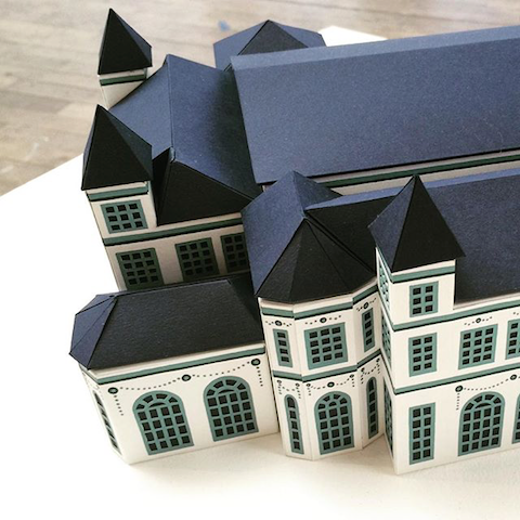 paper houses by Amy Bellinger