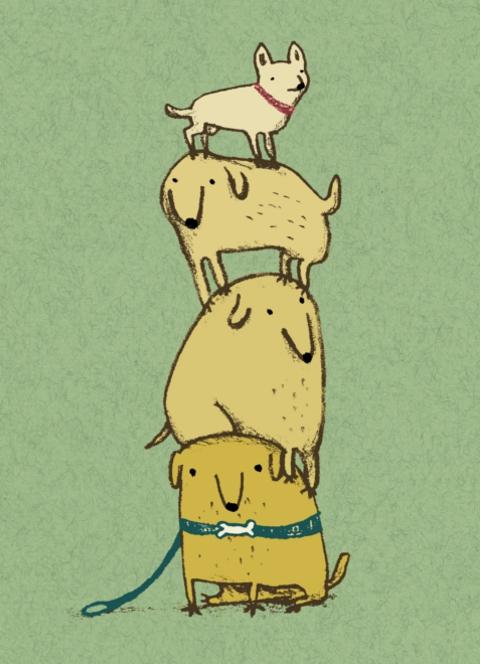 Sophie Corrigan - puppy totem
