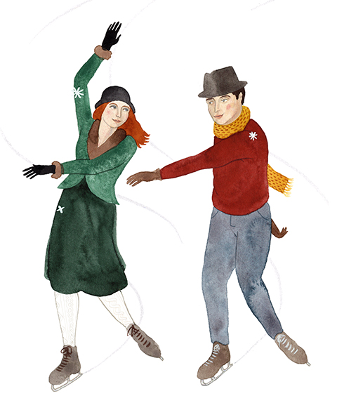 eleanor percival ice-skaters