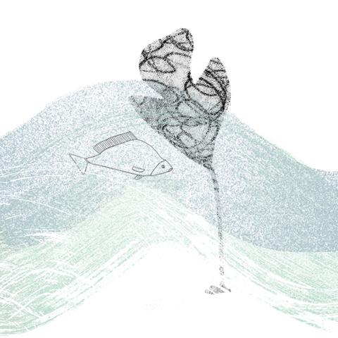 Augusta Akerman 'Swimming Against'