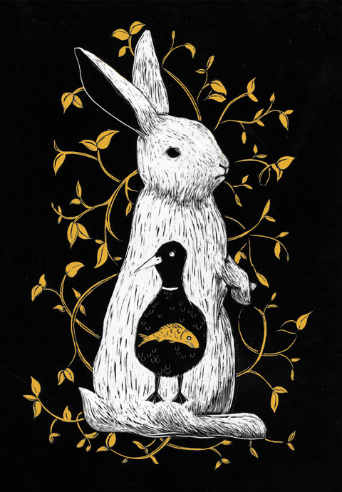 Caitlin Gardiner Rabbit