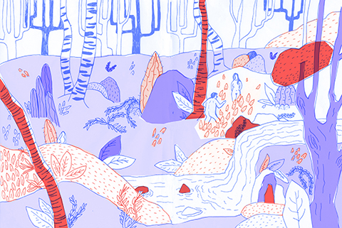 jenny Tang Garden of Eden an Experimental Illustration