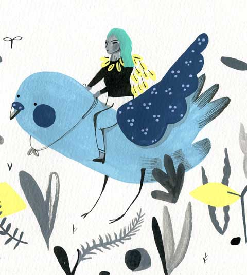 steph moulden budgie blue