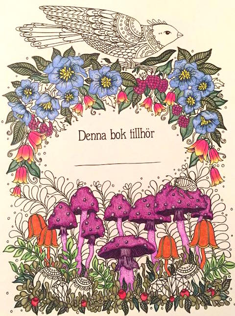 Dagdrömmar coloured by Tonya Gerhardt