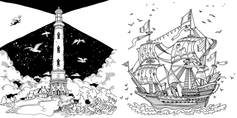 Escape to Christmas Past ship_lighthouse