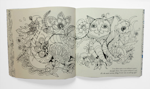 Escape to Wonderland cheshire cat