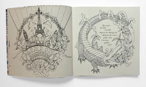 Escape to Wonderland dragon