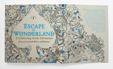 Escape to Wonderland opening page